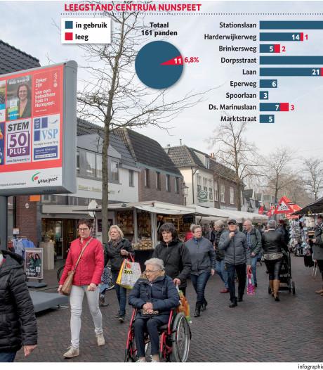 Centrum Nunspeet krabbelt op: leegstand fors gedaald