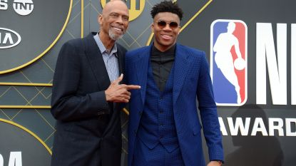De 'Greek Freak' is verkozen tot beste NBA-speler en hij geeft emotionele speech