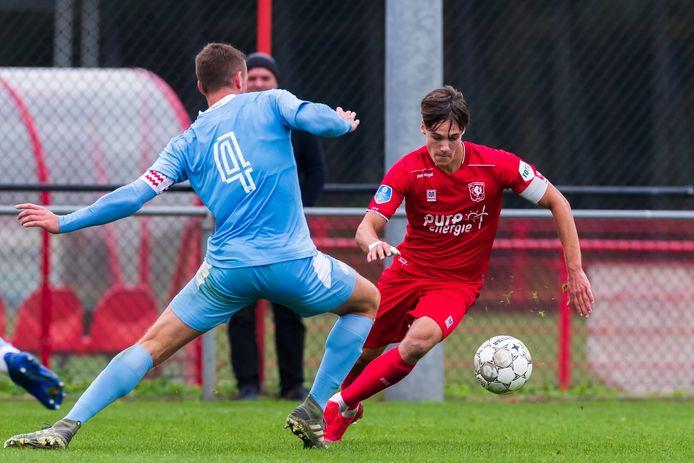 Thijs van Leeuwen staat de komende drie jaar onder contract bij FC Twente.