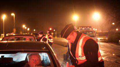Politie vat dronken bestuurders bij de kraag