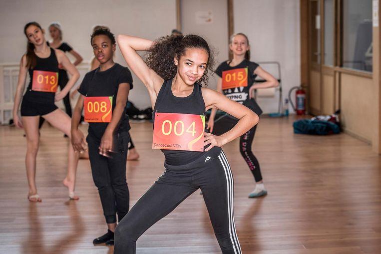 De eerste auditiedag op 'De Dansacademie' was een succes.