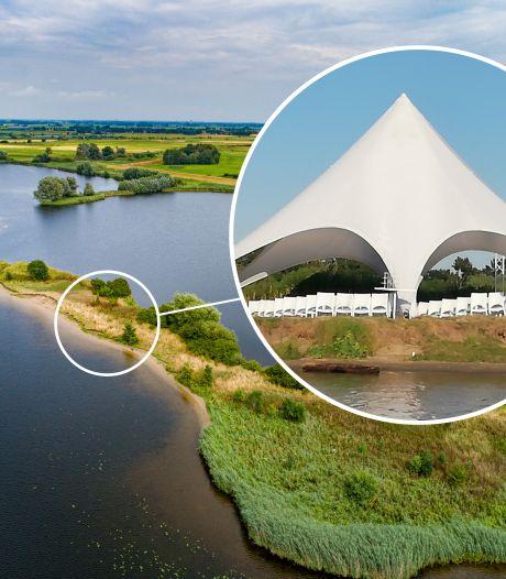 Bruidegom die trouwde in natuurgebied Zwolle moet voor de rechter komen
