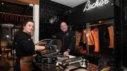 Peter De Clercq en dochter Axelle openen 'Lecker by Elckerlijc'