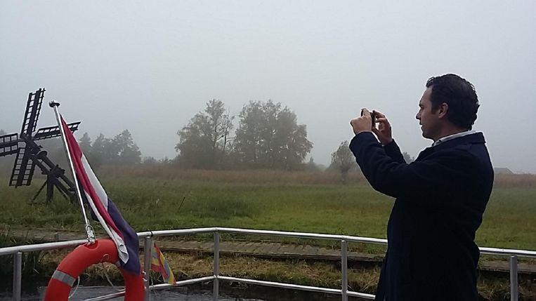 Staatssecretaris Martijn van Dam. Beeld null