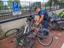 Fout gestalde fietsen aangepakt