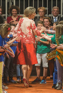 In 2015 droeg Koningin Máxima bij een concert van 'Kinderen Maken Muziek' ook een culotte: een rode dit keer.