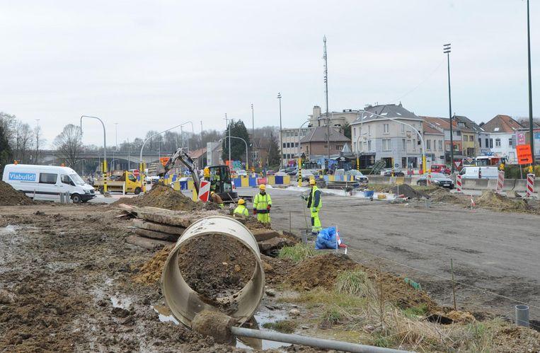 Ingrijpende werken aan het Woluwedal: een beeld dat de omwonenden de komende negentien maanden opnieuw zullen zien.