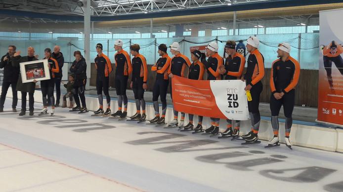 De schaatstalenten van RTC Zuid hebben de Ireen Wüst IJsbaan nu officieel als thuisbasis.