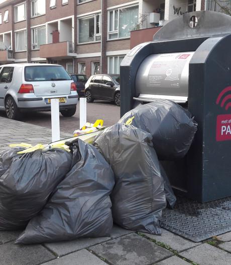 Ik woon in straat X, tegenover die enorme afvalbult