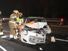Drie ongelukken vlak na elkaar op A59 bij Heesch