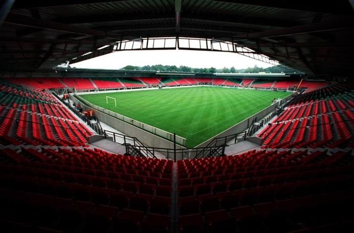 Het Goffertstadion van NEC Nijmegen.