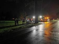 Scooterrijder gaat onderuit en raakt gewond in Barneveld