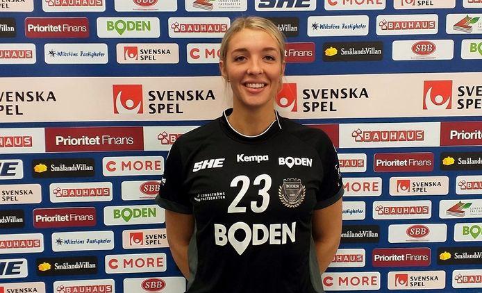 Handbalster Kalia Klomp uit Helmond maakt een transfer naar Boden Handboll IF in Zweden.