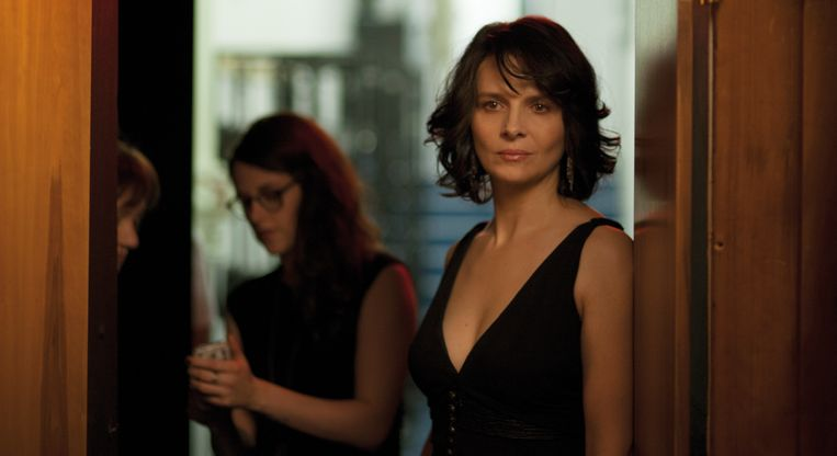 Juliette Binoche in Clouds of Sils Maria (Olivier Assayas, 2014). Beeld Clouds of Sils Maria