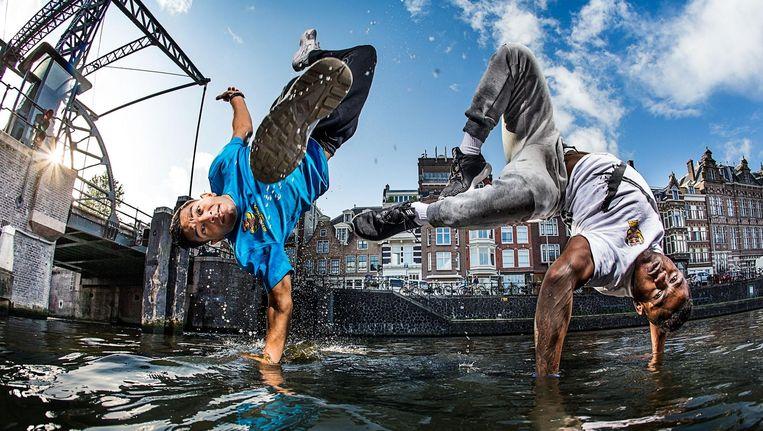 Dit weekend vindt de finale van het WK Breakdance in Amsterdam plaats. Beeld Rutger Pauw