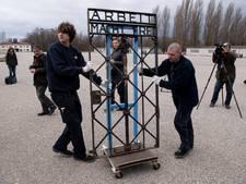 Concentratiekamp Dachau heeft gestolen poort terug