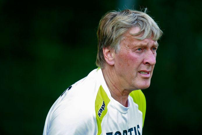Pim Doesburg als keeperstrainer bij Feyenoord  in 2007.