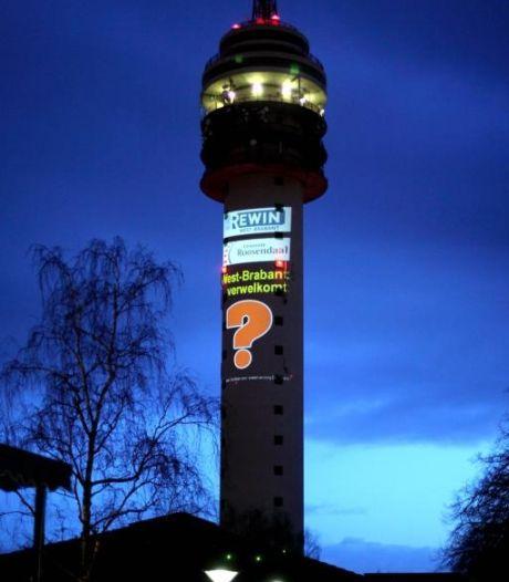 Vragen rond vraagteken op televisietoren Roosendaal