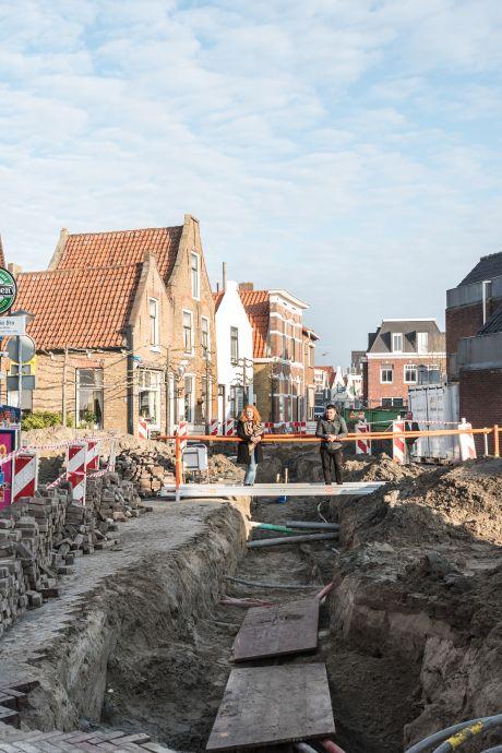 Opgebroken straten in Bru zorgen voor verwarring en ergernis