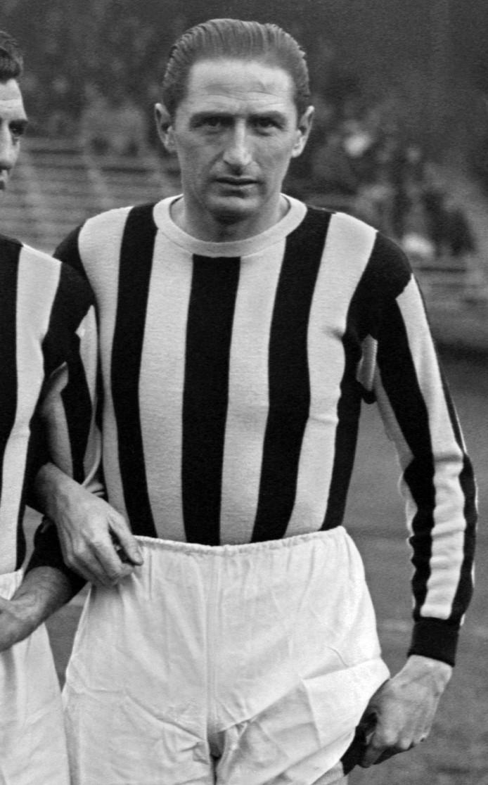 Silvio Piola, hier als speler van Juventus in 1946.