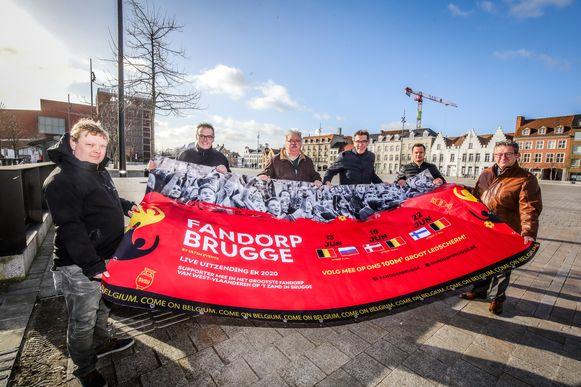 Brugge voorstelling EK fandorp op het Zand