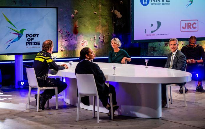 Port of Pride werd gelanceerd met een live-uitzending vanuit de Onderzeebootloods bij Heijplaat.
