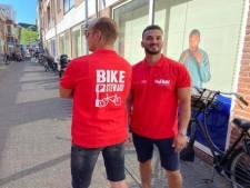 Zet u daar de fiets maar neer in Harderwijk