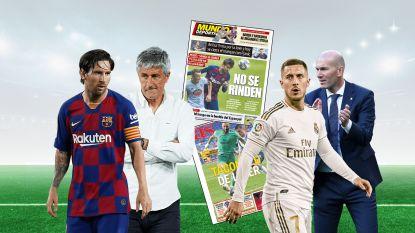 Bewogen weekend in Spanje: Xavi aast op wankele stoel Setién, Messi negeert T2, Zidane rekent zich nog niet rijk