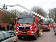 Schoorsteenbrand in Holten trekt veel bekijks