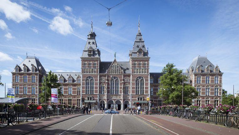 Het Rijksmuseum in Amsterdam. Beeld anp