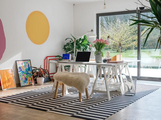 Interieur anno 2018: kleurrijk, eclectisch en toch warm, zoals bij ...