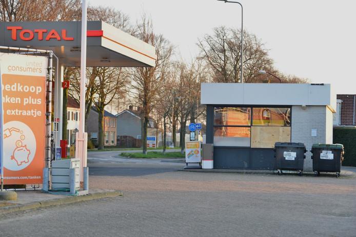 Overval op tankstation in Wernhout.