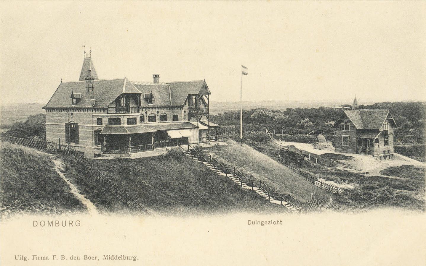 Villa Sommerhoff in de duinen van Domburg