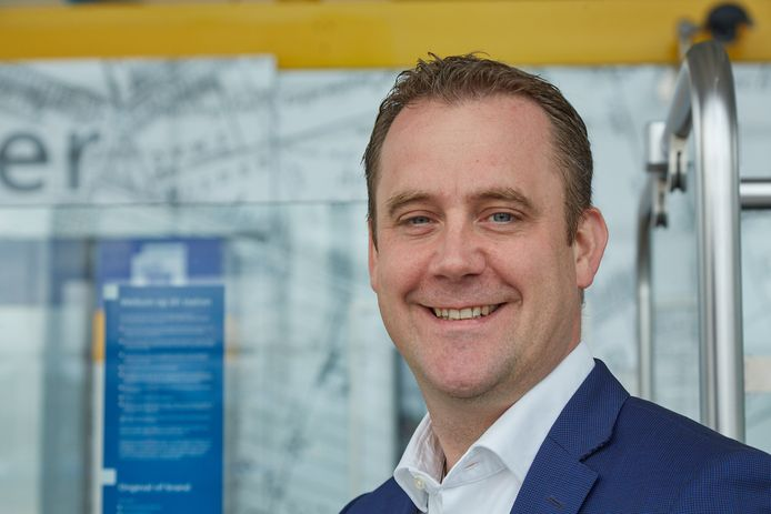 Wethouder Marc Rosier (financiën) van Zoetermeer.