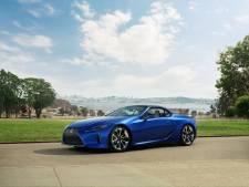 Lexus trekt het dak van de LC 500 Convertible