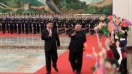Kim en Xi tonen eenheid in aanloop naar nieuwe ontmoeting met Trump