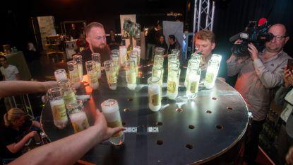 Opdrinken mag niet! Gent mixt 1.528 liter Gin Tonic en verpulvert wereldrecord