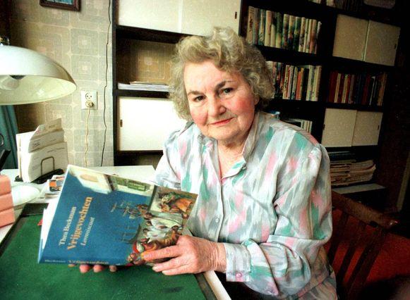 Schrijfster Thea Beckman overleed in 2004