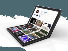 Na de vouwbare smartphone is dit de eerste laptop met vouwbaar scherm