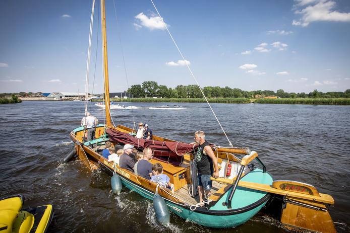 De open dag van Almelosche Watersport Vereeniging is elk jaar een succes.