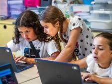 In de bloedhitte naar school: deze Utrechtse kinderen vinden het heerlijk
