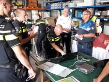 Politie schrikt van schoolklas in de Rijn
