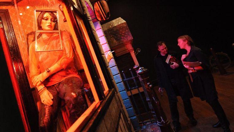 The Hoerengracht (Whore's Canal) hangt nu nog in de National Gallery in Londen. Foto EPA Beeld