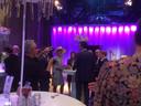 Na afloop van de opening van theater de Blauwe Kei sprak de koningin uitgebreid met Veghelse ondernemers en betrokkenen van de Noordkade. Waaronder Stefan van de Ven van het bouwbedrijf, de kartrekker van het cultuur- en winkelcomplex.