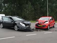 Flinke schade na ongeluk op de N331 bij Hasselt