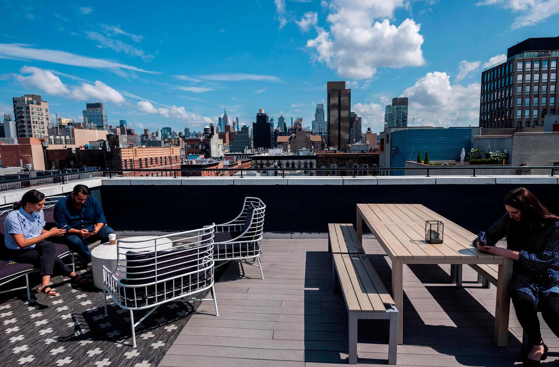 Nandita Iyer ne voulait pas d'un studio lugubre à New York... aujourd'hui, c'est loin d'être son cas