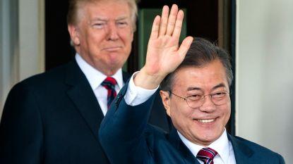 Zuid-Korea betaalt meer geld voor Amerikaanse steun als afschrikmiddel voor Noord-Korea