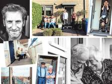 Joyce (48) maakte foto's van honderden thuisblijvers: 'Men snákt naar contact, de spiegel praat niet terug'