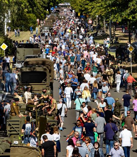 Market Garden in Eindhoven trekt veel bekijks: 'Van de oorlog hadden wij niet zo veel last'