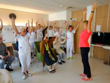 Commandeur krijgt patiënten MMC in Veldhoven uit bed
